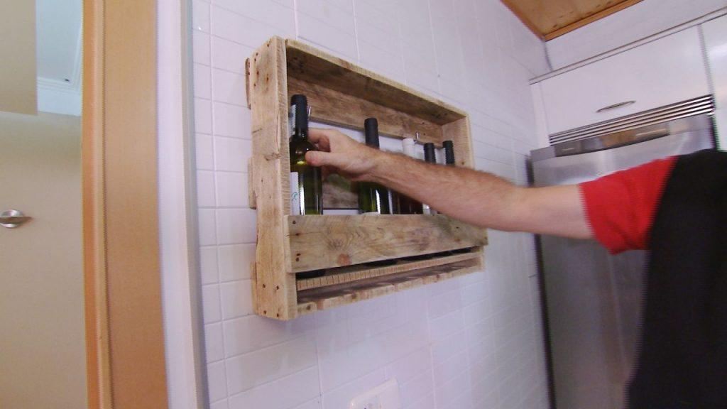 Como hacer botelleros de madera botellero macizo tratadajpg with como hacer botelleros de Botelleros de obra