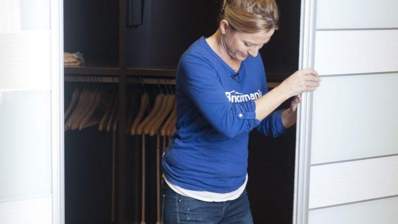 Ajusta tu puerta corredera aprende con nosotros con este incre ble paso a paso manos a la obra - Ajustar puertas armario ...