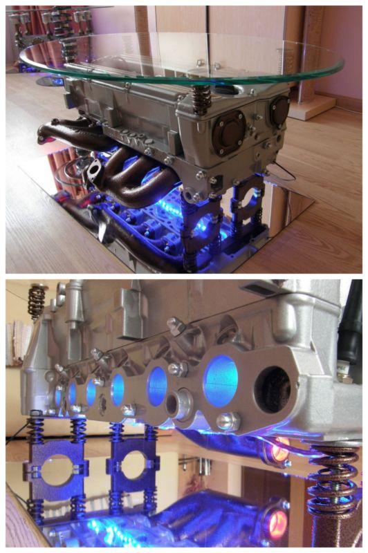 Partes Para Carros >> Mira estas 8 mesas de centro hechas con motores reciclados que puedes adquirir en Ebay – Manos a ...