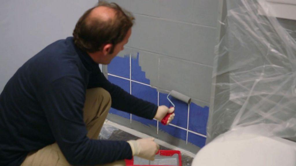 5 sorprendentes pasos para pintar los azulejos mucho m s - Como pintar los azulejos del bano ...