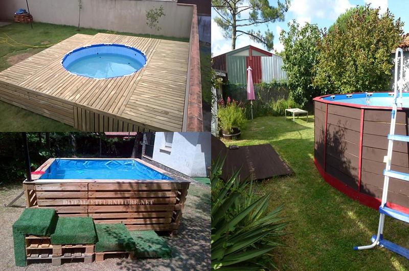7 ideas para hacer una piscina de pallets en casa manos for Ideas para hacer una piscina