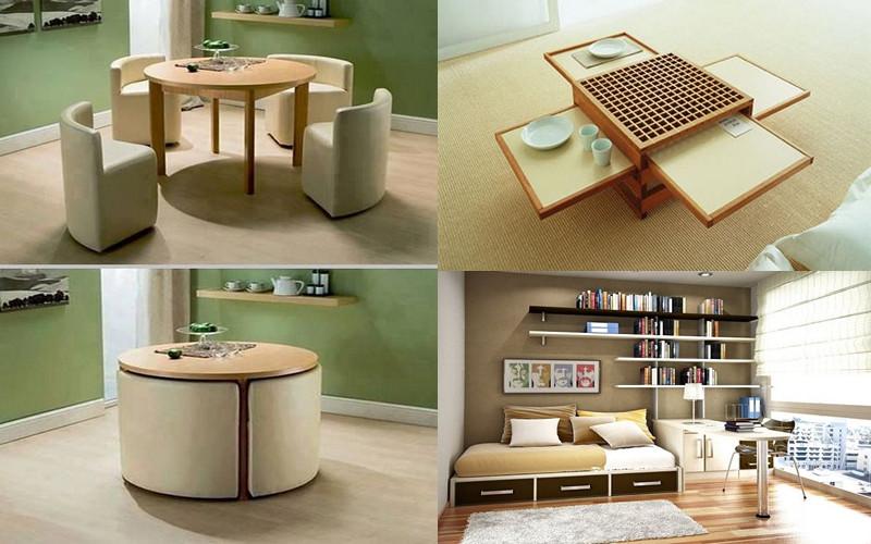 12 ejemplos de c mo muebles polifuncionales son adecuados for Amueblar espacios pequenos