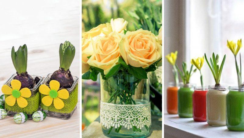 macetas para plantas de paredesu tu imaginacin te dir cmo reciclar un simple frasco de vidrio para darle ms estilo a tu hogar