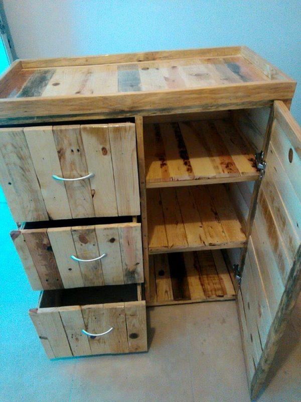 Muebles De Palets Para Cocina. Cool Muebles Con Palets With Muebles ...