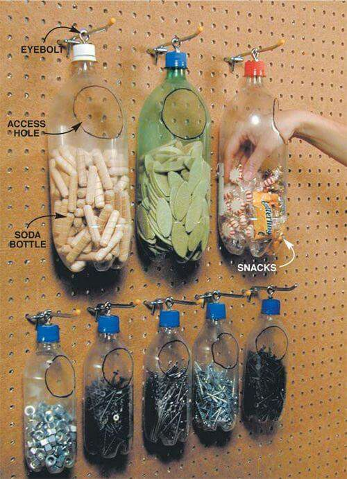 8 ingeniosas ideas para reciclar botellas de pl stico y for Ideas creativas para decorar el hogar