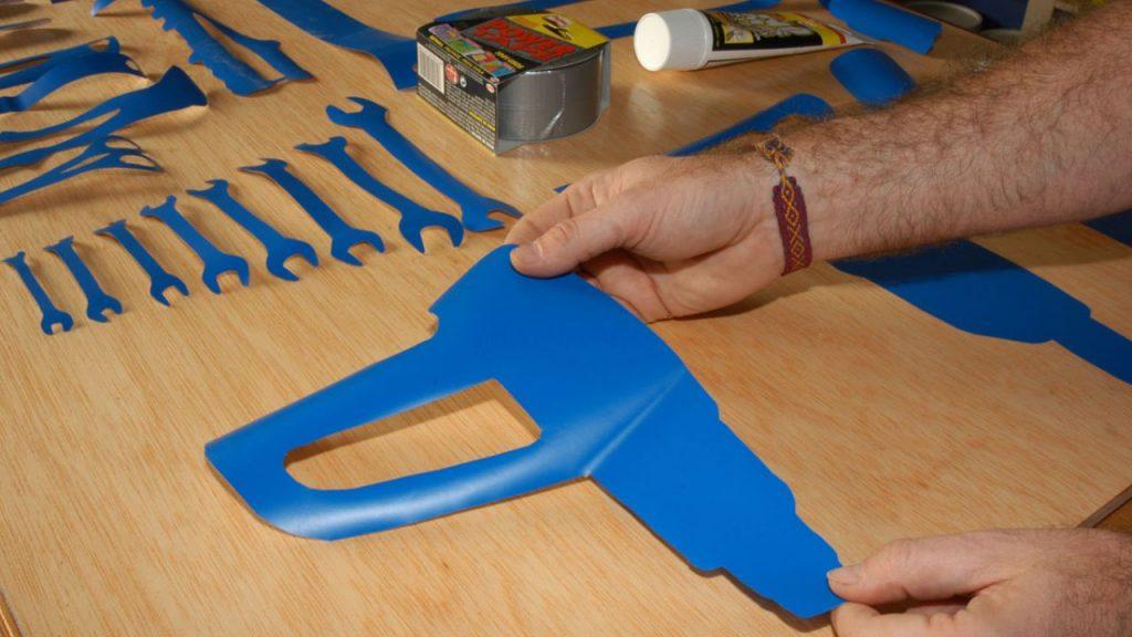 Mira c mo se hace este fabuloso panel de herramientas en - Tablero de herramientas ...