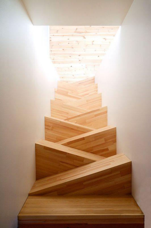 15 dise os de escaleras para hacer volar tu conceto de - Escaleras de obra ...