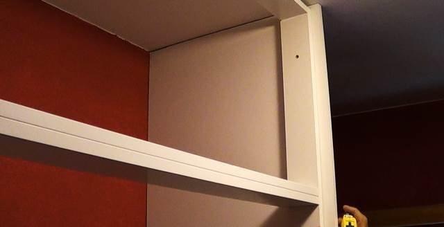 Construye tu propio armario empotrado a medida y sin mucho - Estructura armario empotrado ...