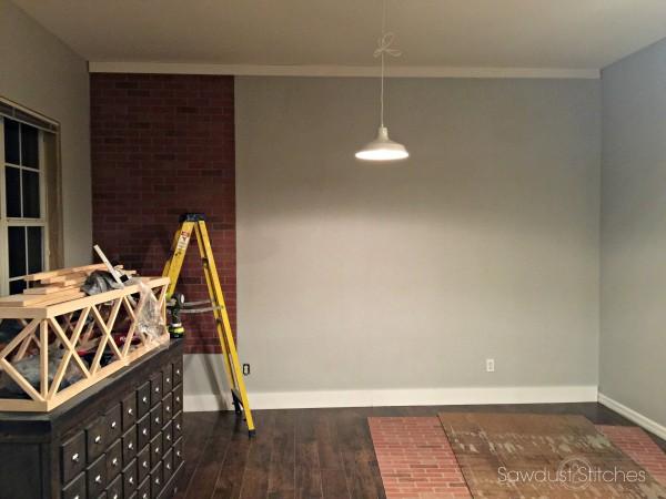Aprende de este tutorial como hacer una pared de ladrillo for Pared de ladrillos falsa