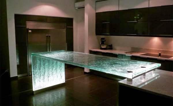 15 im genes impactantes de modernos y elegantes muebles de for Muebles de cocina de obra