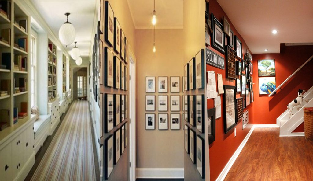 22 extraordinarias ideas para decorar tu pasillo con mucha - Ideas para decorar un pasillo ...