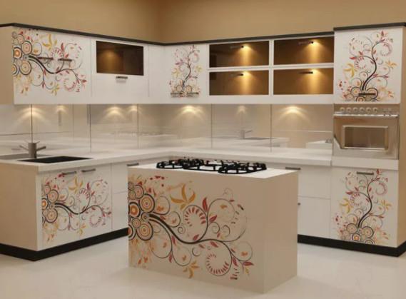 usar diseos exagerados en la decoracin de los muebles