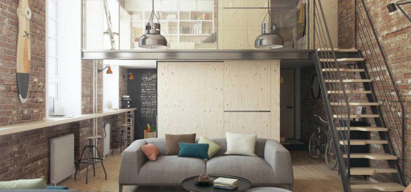 Construye un peque o altillo de aluminio para aprovechar - Aprovechar espacios en casa ...