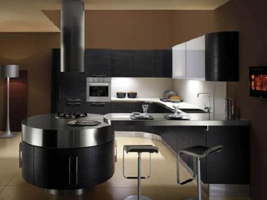 las propuestas con un mobiliario hecho a medida son las ms indicadas para aprovechar cada rincn de la cocina de manera prctica - Cocinas Modernas Pequeas