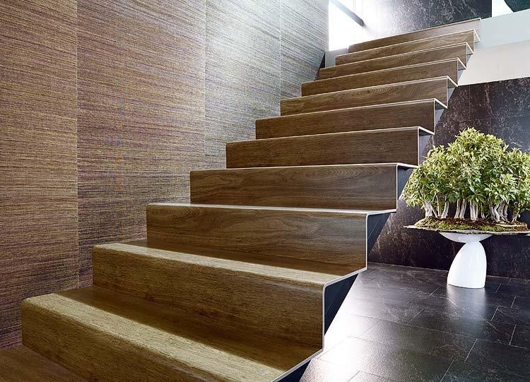 Protege los escalones de la escalera mucho m s f cil de lo - Escaleras de gres ...