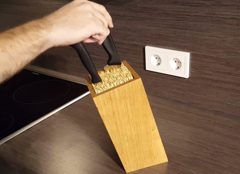 Haz esta caja para guardar los cuchillos en casa de forma segura manos a la obra - Guardar dinero en casa de forma segura ...