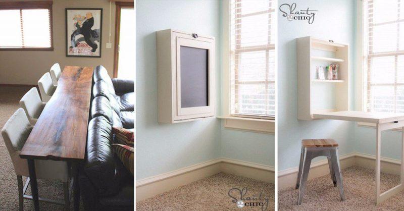 15 ingeniosas ideas para aprovechar el espacio en pisos - Muebles pisos pequenos ...