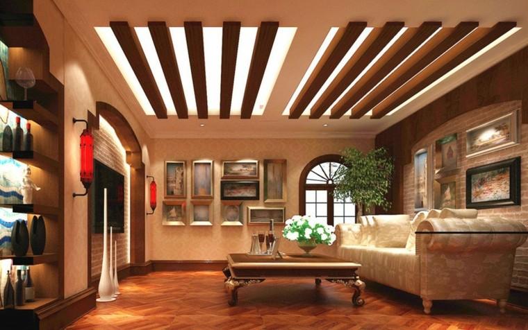 Te imaginas tener un techo de madera hecho por ti mismo for Techo de escayola decoracion simple
