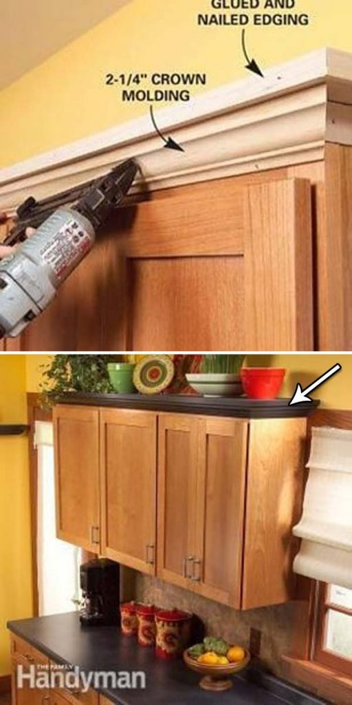 Molduras Para Armarios De Cocina – Solo otra idea de la imagen de la ...