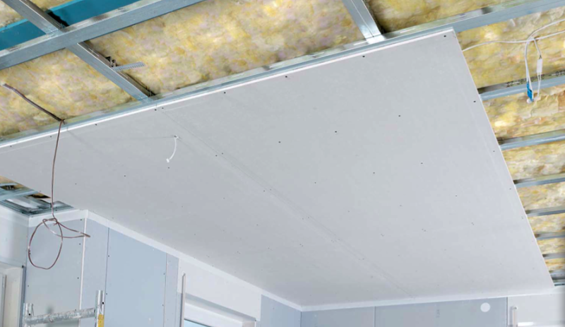 Jam s habr as pensado tener un techo de cart n y yeso for Como poner pladur en el techo