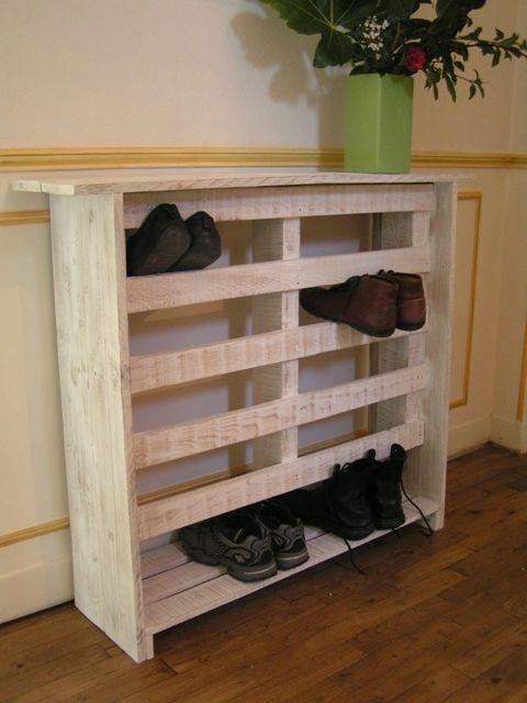 10 formas inteligentes para usar los pallets en casa manos a la obra. Black Bedroom Furniture Sets. Home Design Ideas
