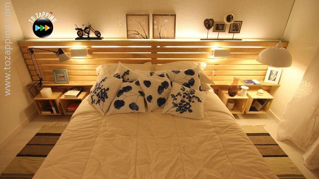 Mira la ltima tendencia de camas con pallets y crea la - Cama con palets ...