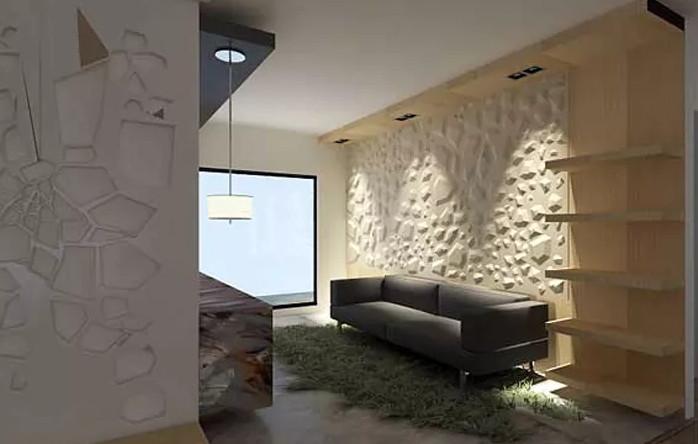 10 revestimientos en piedra para hacer lucir tus paredes - Panel de piedra natural ...