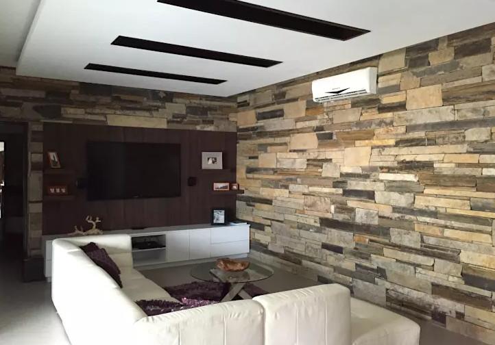 10 revestimientos en piedra para hacer lucir tus paredes - Hacer pared de piedra ...