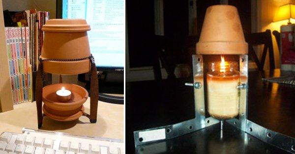 Mant n tu casa a temperatura ambiente usando una maceta - Calefaccion mas barata ...