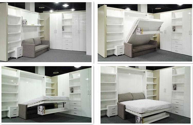 10 sorprendentes formas para realizar camas desplegables - Habitaciones camas abatibles ...