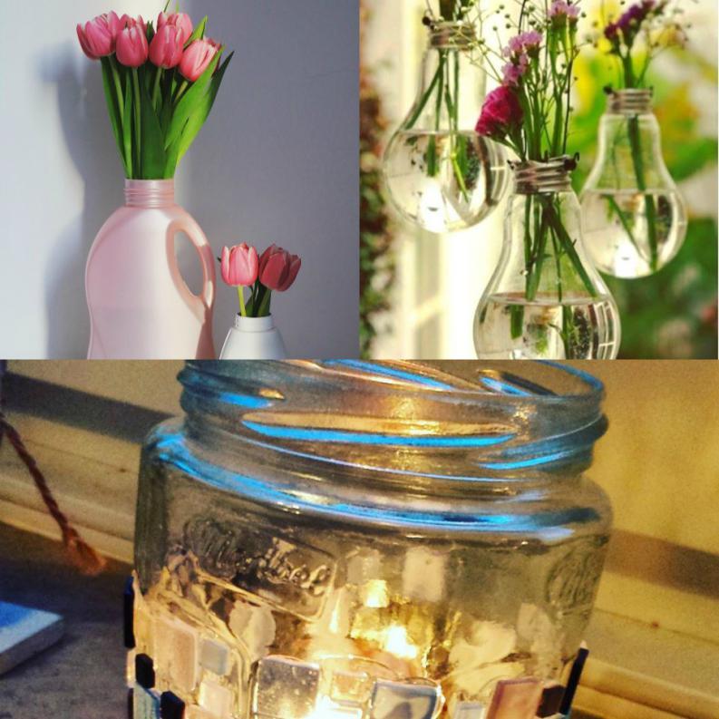 8 incre bles formas de reutilizar la basura que jam s for Reciclar objetos