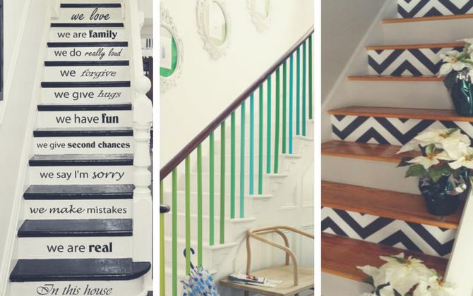 Basta de escalones aburridos dale 8 estilos originales a - Ideas originales casa ...