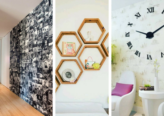 Paredes muertas nunca m s hermosas ideas para decorar paredes vac as en tu hogar manos a la obra - Ideas para decorar paredes con fotos ...
