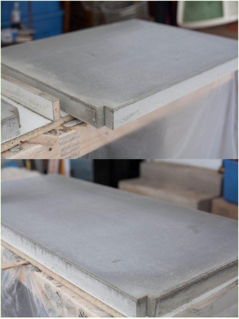 Encimera cemento pulido en esta imagen destaca la - Encimera de hormigon precio ...