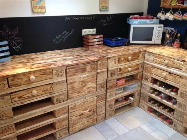 Muebles De Cocina Hechos Con Palets. Gallery Of Simple Diseo De ...