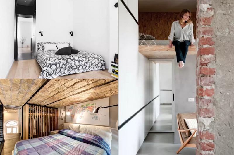 9 habitaciones para hacer en espacios peque os manos a for Decoracion en espacios reducidos