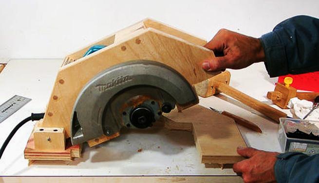 Ahora tendr s tu propia sierra de mesa casera usando - Sierras circulares de mesa ...