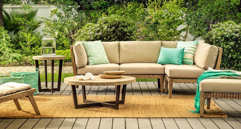 Aprende c mo hacer un living de terraza muy a la moda en for Juego comedor terraza madera