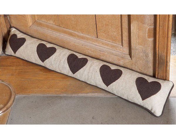 Olv date del fr o debajo de la puerta de tu casa usando for Burlete puerta decorativo