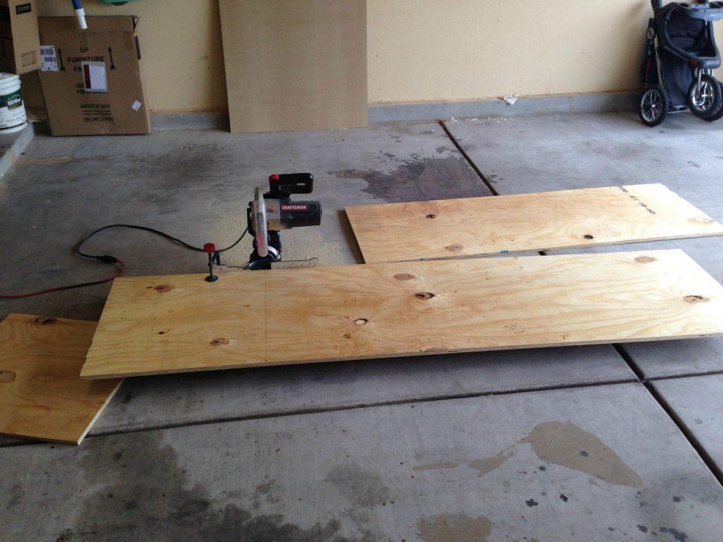 Construye tu propia mesa despegable empotrada a la pared for Tu factory del mueble