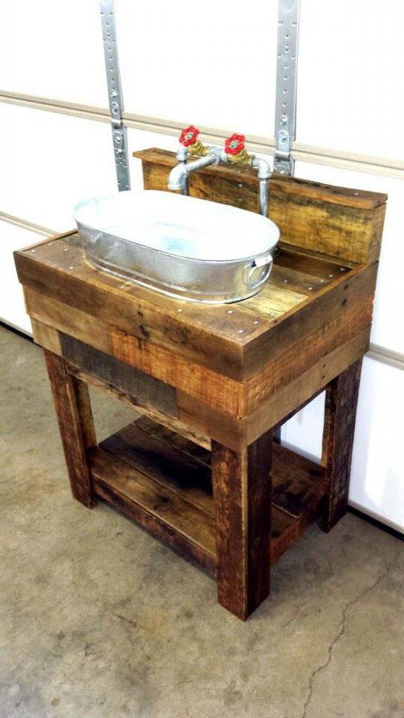 12 ideas para hacer excelentes muebles y trabajos for Base para lavadero