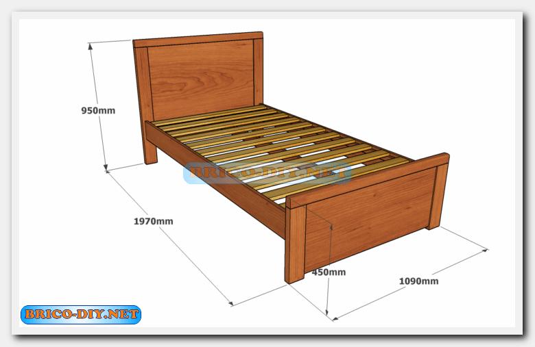 Quieres tener la cama perfecta a tu medida hazla tu - Medidas estandar de camas ...
