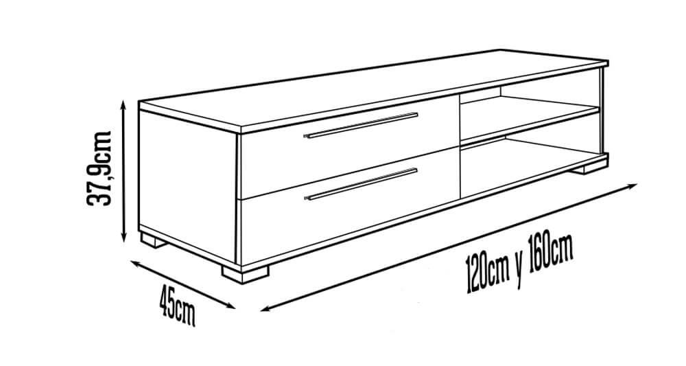 Solo tendr s que seguir este plano para hacer el mueble de - Mueble para el televisor ...