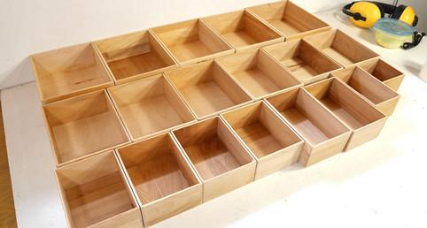 Aprende a realizar divisores con estas cajintas de madera - Como se construye una casa de madera ...