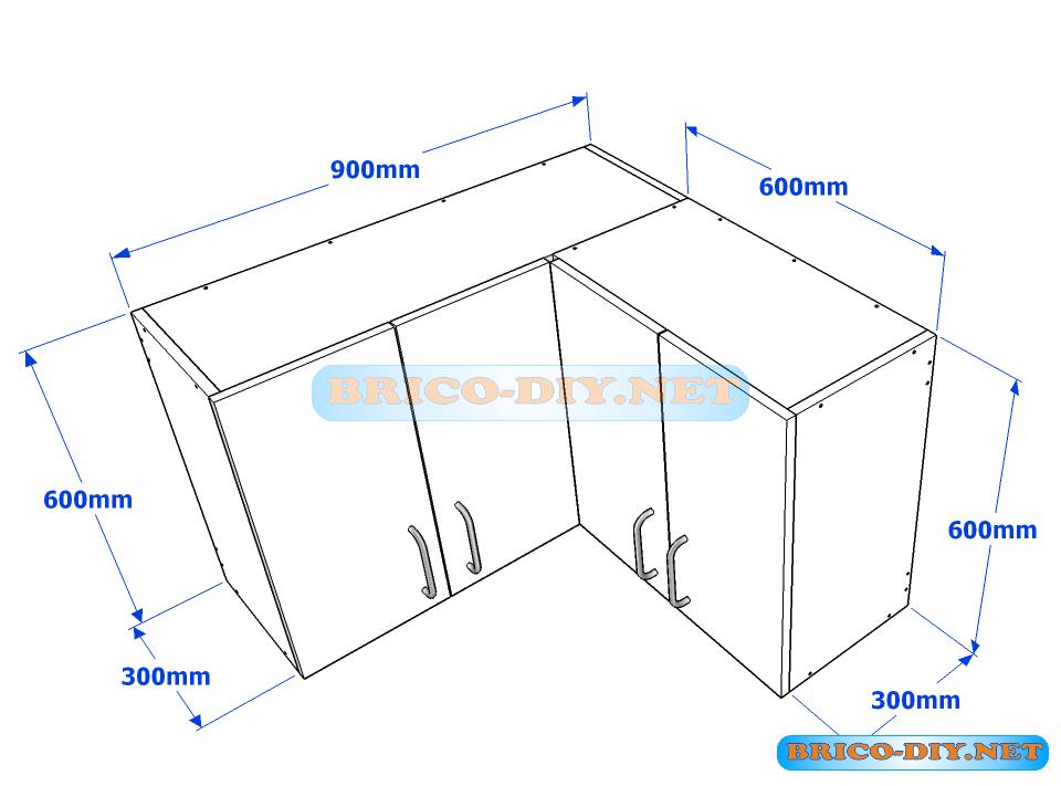 Los planos exactos que harán de tu mueble de cocina una ...