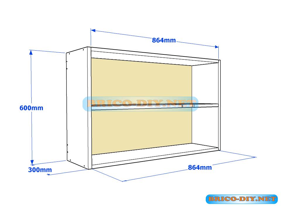 Los planos exactos que harán de tu mueble de cocina una esquinera en ...