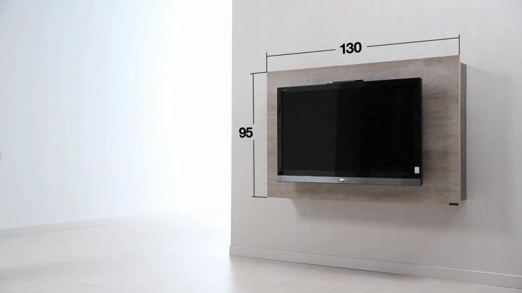Haz un mueble de tv giratorio con las medidas exactas y la ...
