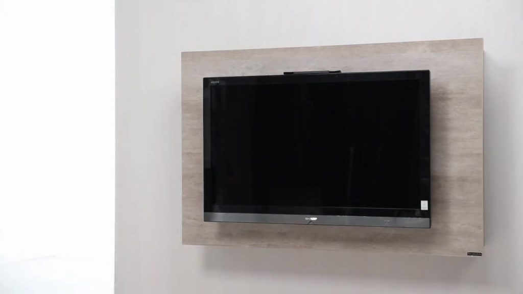 Haz un mueble de tv giratorio con las medidas exactas y la for Como hacer un mueble para tv