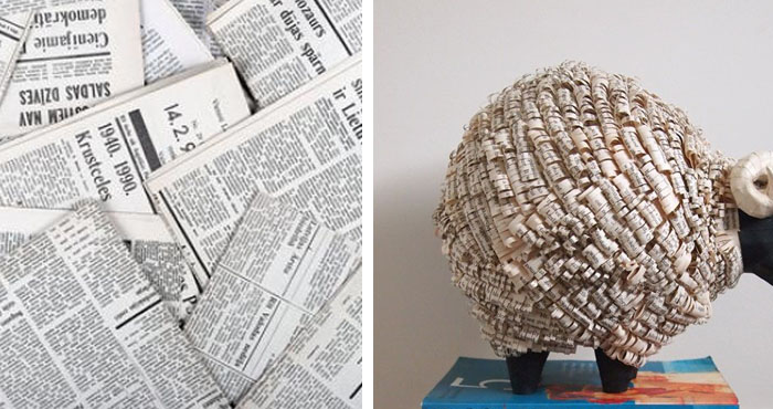 No podr s creer todo lo que puedes hacer con algunas hojas - Manualidades de papel periodico faciles ...