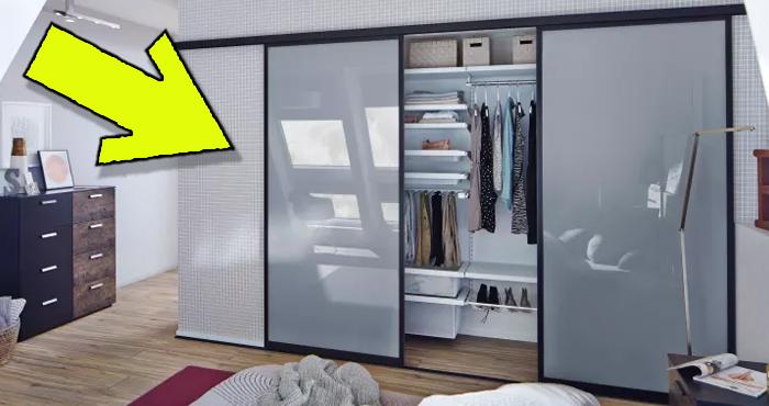Los 7 extraordinarios armarios con puertas corredizas que for Ideas de puertas corredizas